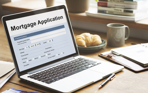 Laptop Mortgage Application